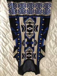 Blue and black tribal print dress Fredericksburg, 22401