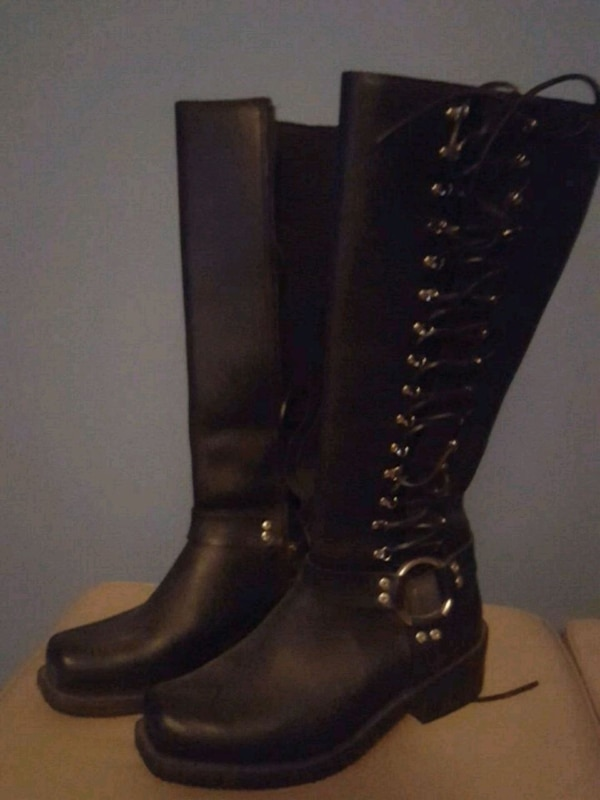 Women Harley boots shoes