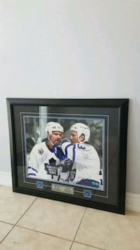 gilmour and Clark autographed framed pictures  Brampton, L6Y 0J2