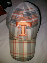 gray and orange Texas rangers fitted cap Red Oak, 75154