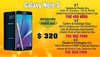 Galaxy Note 5  Las Vegas, 89101