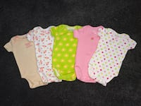 5 Wan-A-Beez onesies 0-3m New Westminster, V3M 0E7