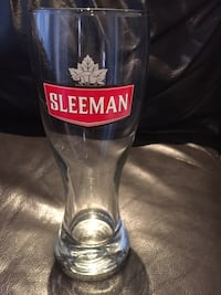 Sleeman Glasses 8$ each New Mont-Royal, H4N 2P3