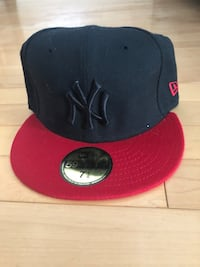 New York Yankee fitted hat