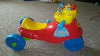 toddler's blue, yellow, and red 3-wheeled ride on  Mount Pleasant, 53406