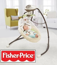 FISHER PRICE 2-MOTION CRADLE N' SWING  Mississauga