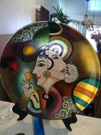 Plate with stand Las Vegas, 89119
