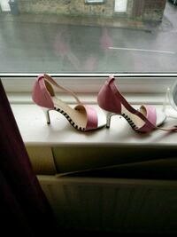 Lovely pink/silver/black shoes  Keighley, BD21 2QU