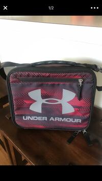 red and black Under Armour duffel bag Crystal Lake, 60014