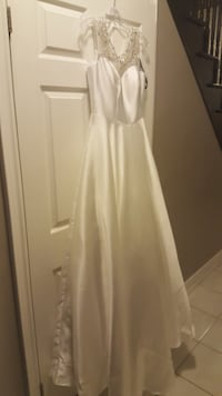 Jadore evening gown/wedding dress sleeveless - BRAND NEW-   WOODBRIDGE