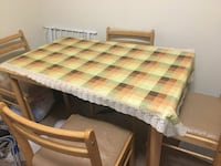 Dinner table with 4 chairs Sayreville, 08859