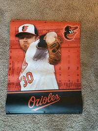 2018 season Camden Yards light post banner