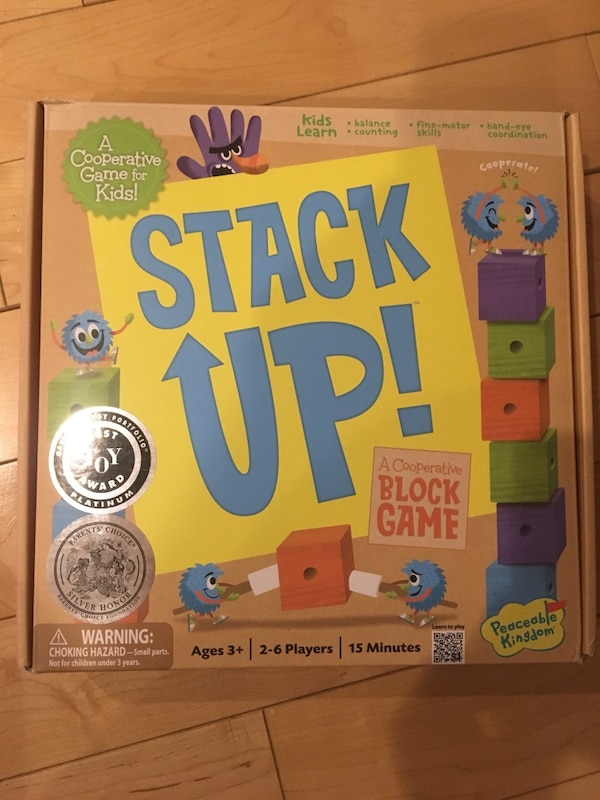 Stack Up! Game (3+)
