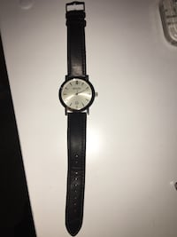 Men's Bulova brown leather watch