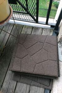 Floor tiles for patios (12 units) Chicago, 60618