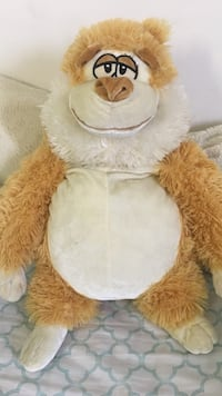 white and brown bear plush toy Montgomery Village, 20886