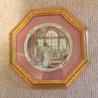 Trisha Romance Framed Picture Plate