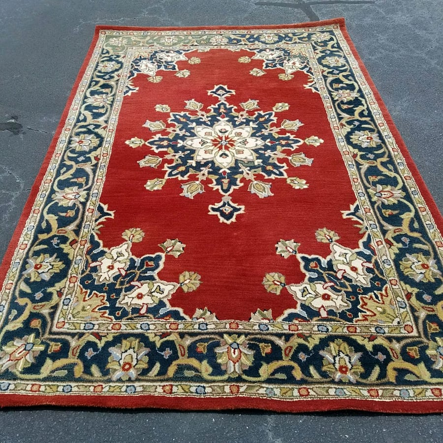 Beautiful red Persian rug