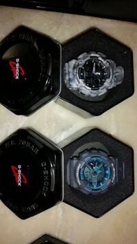 2 genuine gshock watches almost $300 new