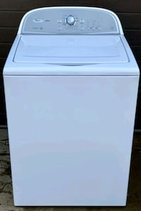 Whirlpool large capacity washer, 12 month warranty