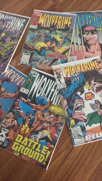 Wolverine comics $1 each (many more then shown) Fremont, 94536
