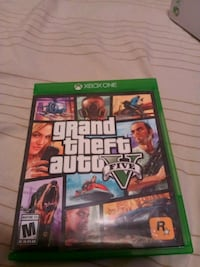 Grand Theft Auto Five Xbox One game case Tacoma, 98446
