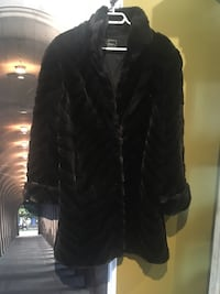 Faux fur coat sizeL to XL