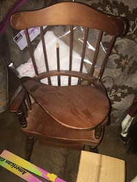 brown wooden American girl doll chair for felicity.   Needs repair Washington, 20041