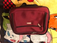 Red and black travel luggage Garden Grove, 92843