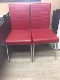Leather like office chair 30.00$ each  I have 2 Aurora, L4G 1M5