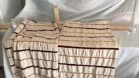 white and red striped curtains (thick) use Visalia, 93291