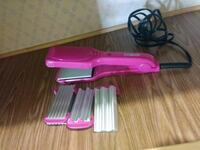 pink hair flat iron and hair curler Houston, 77032