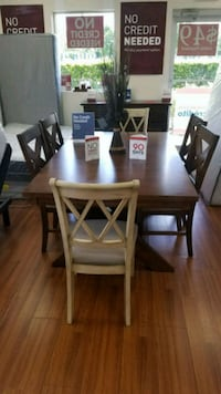 New Solid Wood Dinning ROOM Set by Ashley FURNITUR Orlando, 32829