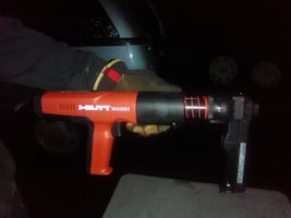 Concrete nail gun was1100.00 now 700.00 hilti