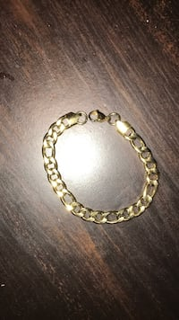 gold-colored chain bracelet Vaughan, L4H 1S2