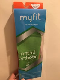 Brand new Myfit control orthotic Potomac, 20854