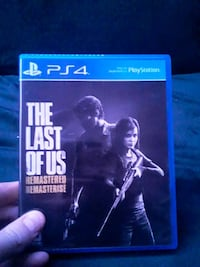 The last of us.ps4 game