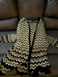 Women's brown, white and gold sweater  Maryland