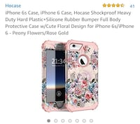iPhone 6/7/8 plus floral case, brand new. Gainesville, 32608