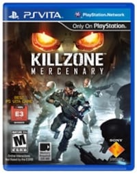 Killzone Mercenary PS VITA RARE St Catharines, L2T 3S5