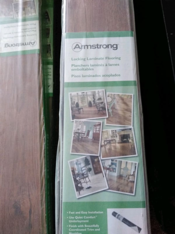 Sold Armstrong Lock And Fold Laminate