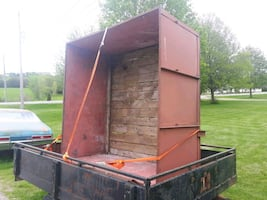 Good well built steel box not too heavy*can delivr