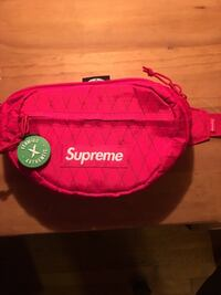 Red supreme fanny Pack Potomac, 20854