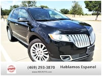 2012 Lincoln MKX for sale Lewisville, 75057