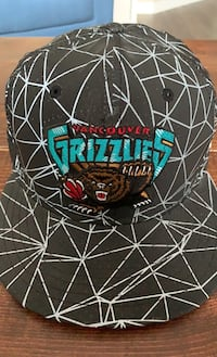 Vancouver Grizzlies 9 Fifty SnapBack NewEra, like new! $10 OBO