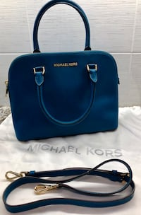 Blue Michael Kors leather 2-way handbag Jersey City, 07306