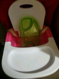Baby booster chair with tray 10 km