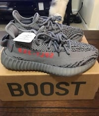 pair of Zebra Adidas Yeezy Boost 350 V2 with box Vaughan, L4K 0G3