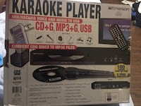 New CD MP3 and karaoke player with microphone, Retails over 100 La Mesa, 91941