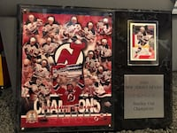 New Jersey Devils 2000 Stanley Cup Champions plague Wayne, 07470